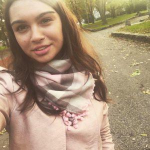 Kristina-lektorka angielskiego